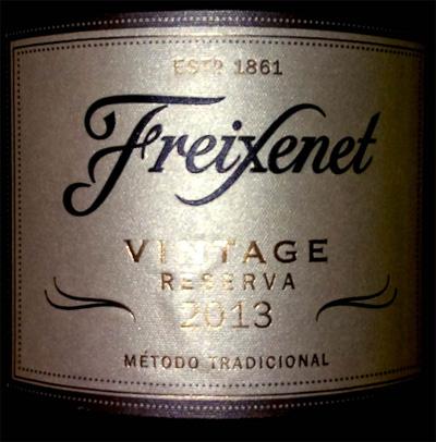Отзыв об игристом вине Freixenet cava brut reserva vintage 2013