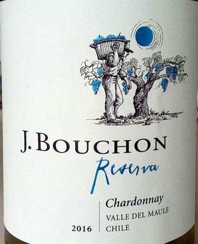 Отзыв о вине J.Bouchon chardonnay reserva 2016