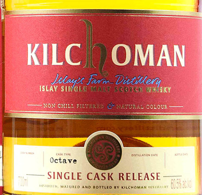 Отзыв о виски Kilchoman Isle single cask  0,7 liter