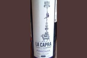 Отзыв о вине La Capra pinotage 2013