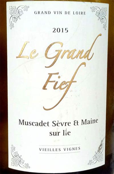 Отзыв о вине Le Grand Fief muscadet sevre et maine sur lie 2014