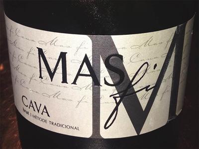 Отзыв об игристом вине Mas Fi cava brut 2013