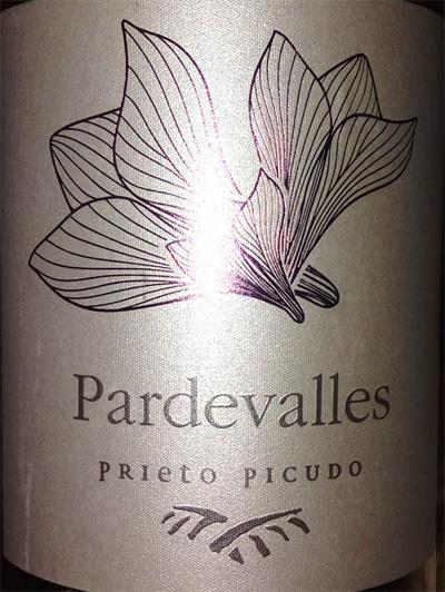 Отзыв о вине Pardevalles prieto picudo 2015
