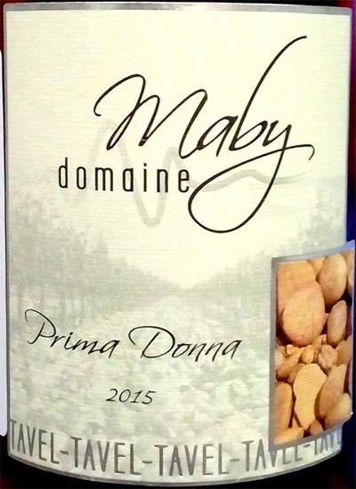 Отзыв о вине Prima Donna Tavel Maby domaine 2015