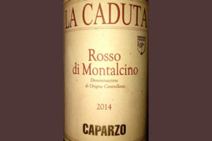 Отзыв о вине Rosso di Montalcino La Caduta Caparzo 2014