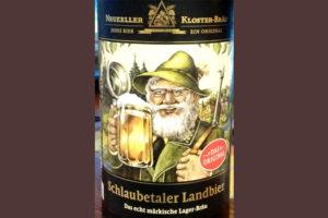 Отзыв о пиве Schlaubetaler Landbier