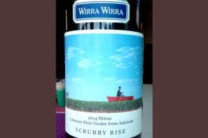 Отзыв о вине Scrubby Rise shiraz 2014 wirra wirra