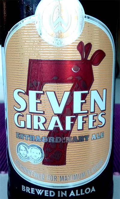 Отзыв о пиве Seven Giraffes extraordinary ale
