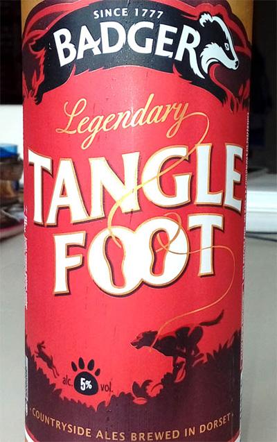Отзыв о пиве Tangle Foot Ale Budger