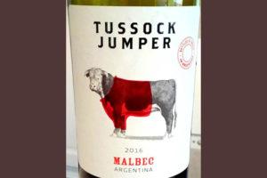 Отзыв о вине Tussock Jumper Malbec 2016