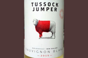 Отзыв о вине Tussock Jumper Sauvignon Blanc 2015