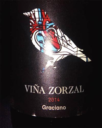 Отзыв о вине Vina Zorzal graciano 2014
