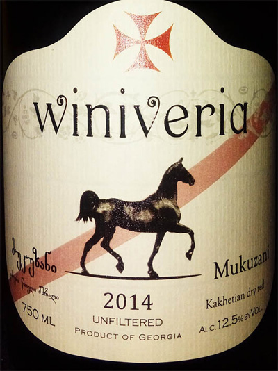 Отзыв о вине Winiveria Mukuzani dry red 2014