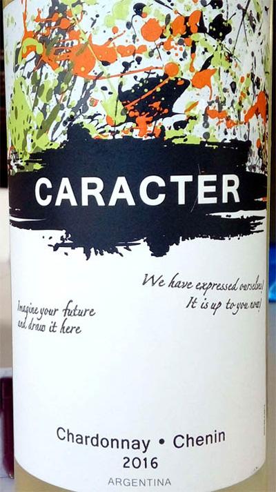 Отзыв о вине Caracter Chardonnay Chenin 2016