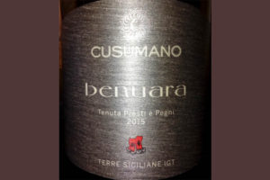 Отзыв о вине Cusumano Benuara Terre Siciliane IGT 2015