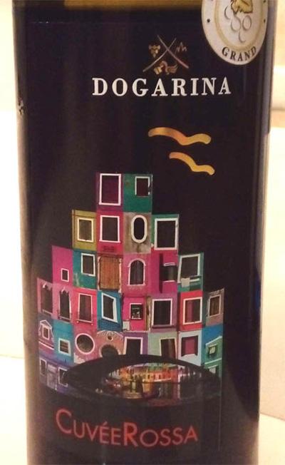 Отзыв о вине Dogarina Cuvee Rosso 2016