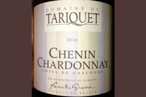 Отзыв о вине Domaine du Tariquet Chenin Chardonnay 2016