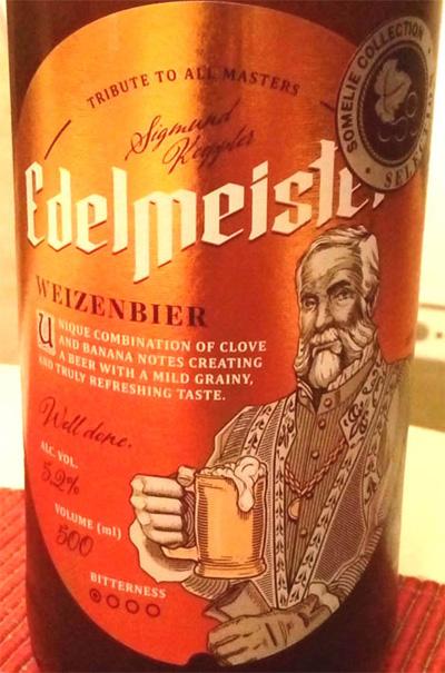 Отзыв о пиве Edelmeister weizenbier