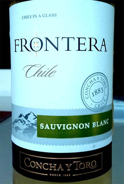 Отзыв о вине Frontera Sauvignon Blanc Concha y Toro 2015
