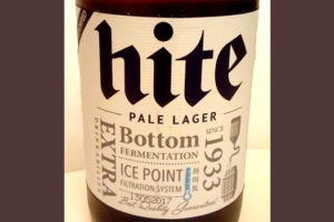 Отзыв о пиве Hite pale lager
