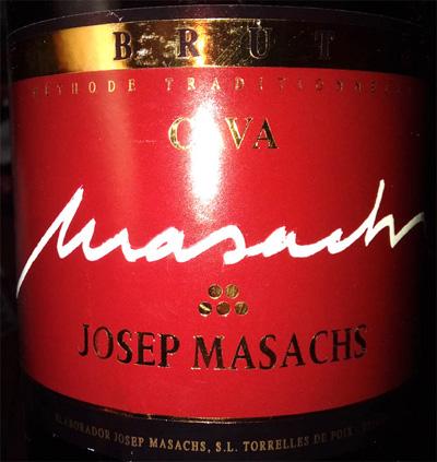 Отзыв об игристом вине Josep Masachs cava brut 2016