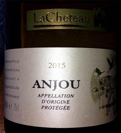 Отзыв о вине LaCheteau Anjou blanc 2015