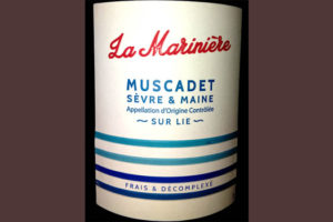 Отзыв о вине La Mariniere Muscadet Sevre & Maine 2015