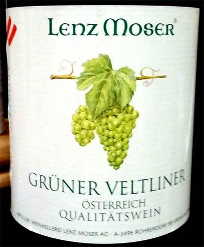 Отзыв о вине Lenz Moser Gruner veltliner qualitatswein 2015