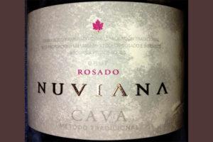 Отзыв об игристом вине Nuviana rosado cava brut