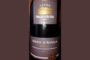 Отзыв о вине Principi di Butera Nero d'Avola Sicilia 2014