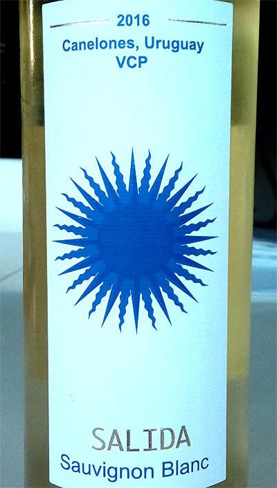 Отзыв о вине Salida Sauvignon Blanc Canelones 2016