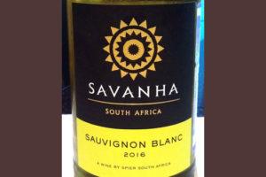 Отзыв о вине Savanha sauvignon blanc 2016
