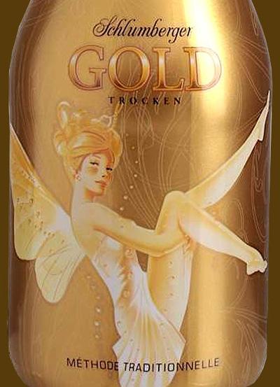 Отзыв об игристом вине Schlumburger Gold trocken 2012