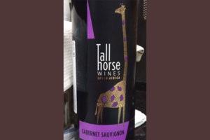 Отзыв о вине Tall Horse Cabernet sauvignon 2016