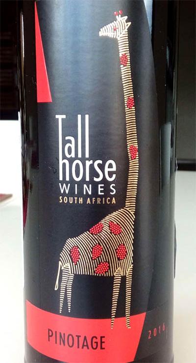 Отзыв о вине Tall Horse pinotage 2016