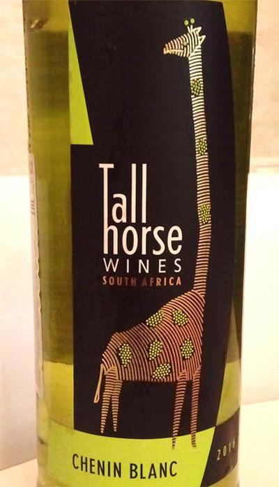Отзыв о вине Tall Horse wines Chenin blanc 2016