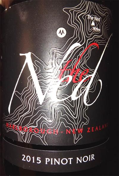 Отзыв о вине The Ned Pinot Noir 2015
