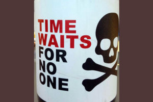 Отзыв о вине Time Waits For No One monastrell 2014