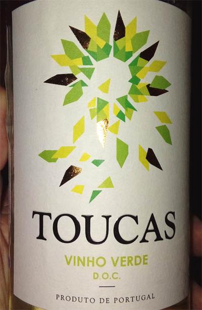 Отзыв о вине Toucas Vinho Verde 2016