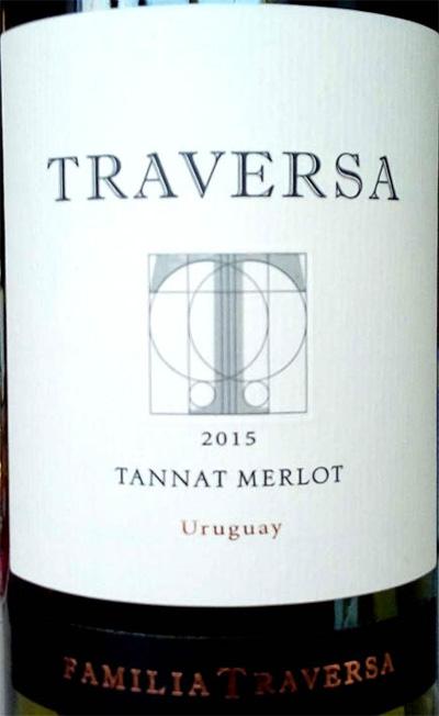 Отзыв о вине Traversa Tannat Merlot 2015