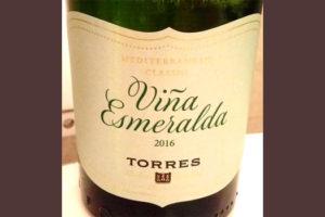 Отзыв о вине Vina Esmeralda Torres 2016