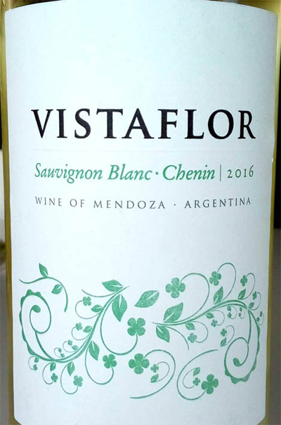 Отзыв о вине Vistaflor Savignon blanc Chenin 2016