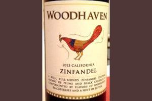 Отзыв о вине Woodhaven zinfandel 2013