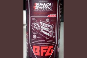 Отзыв о пиве BFG (Big Fucking Gun) double IPA