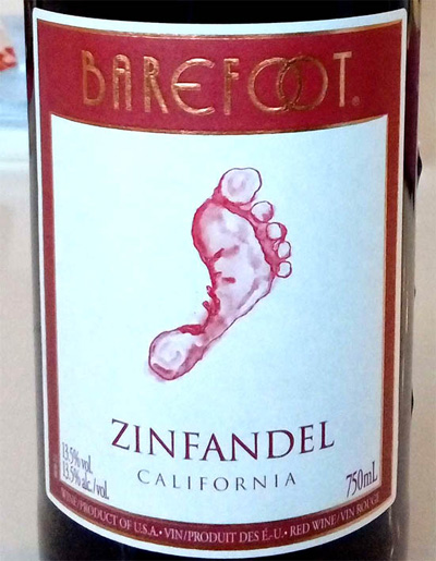 Отзыв о вине Barefoot Zinfandel Califirnia 2016