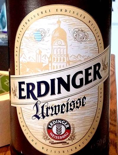 Отзыв о пиве Erdinger urweisse