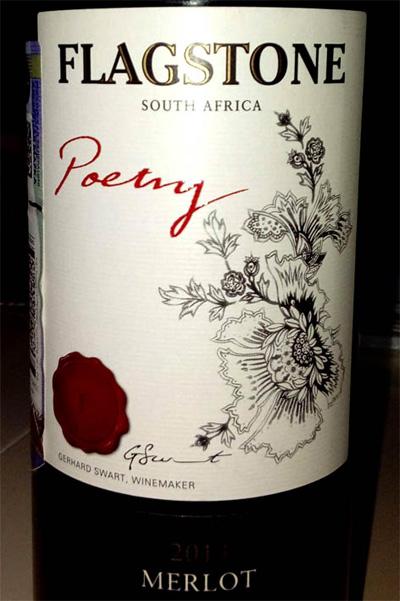Отзыв о вине Flagstone Poetry Merlot 2013