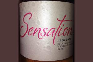 Отзыв о вине Sensation Cotes de Provence rose 2016