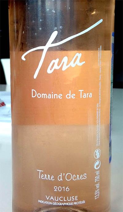Отзыв о вине Tara Domaine de Tara rose 2016
