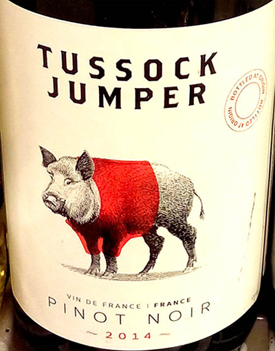 Отзыв о вине Tussock Jumper Pinot Noir 2014